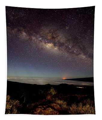 Milky Way From Mauna Kea Tapestry