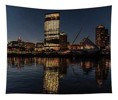 Milwaukee Reflections Tapestry