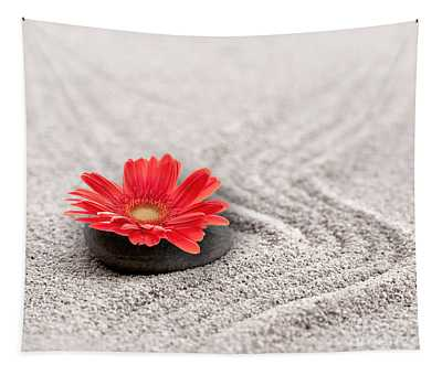 Mineral Flower Tapestry