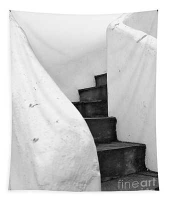 Minimal Staircase Tapestry