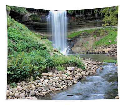 Minnehaha Falls Downstream Tapestry
