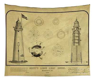 Minot's Ledge Light House. Massachusetts Bay Tapestry