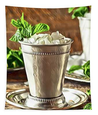 Mint Julep Double Tapestry