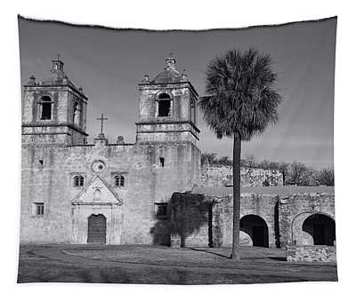 Mission Concepcion -- Bw Tapestry