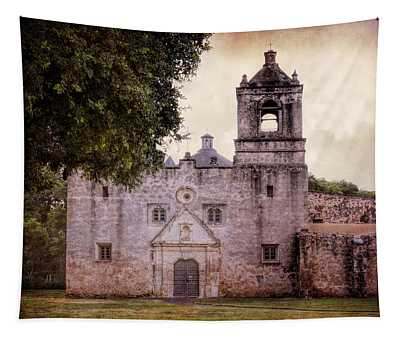 Mission Concepcion San Antonio II Tapestry