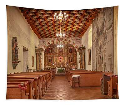 Mission San Francisco De Asis Interior Tapestry