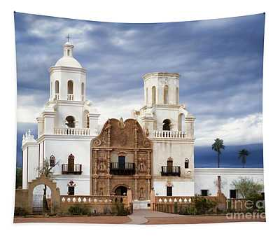 Mission San Xavier Del Bac Tapestry