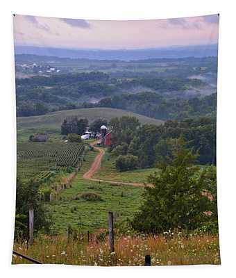 Mississippi River Valley 2 Tapestry