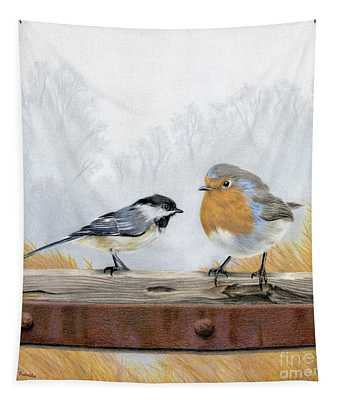 Feathered Friends Tapestry