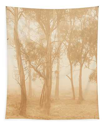 Misty Woods Tapestry