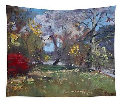 Mixed Weather In A Fall Afternoon Tapestry