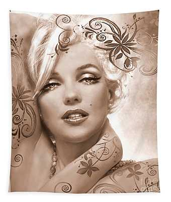 Mm 127 Deco Sepia Tapestry
