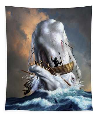 Moby Dick 1 Tapestry