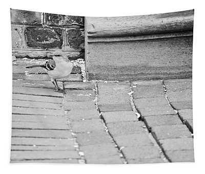 Mockingbird In Town Tapestry