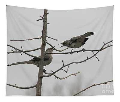 Mockingbirds Talk It Out Tapestry