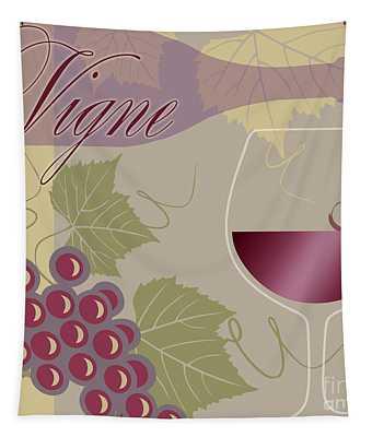 Modern Wine II Tapestry