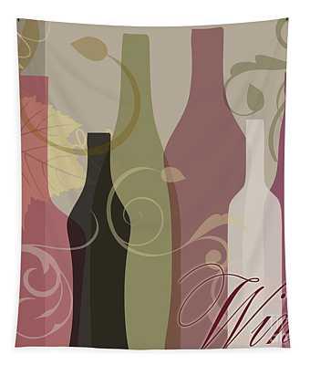 Modern Wine IIi Tapestry