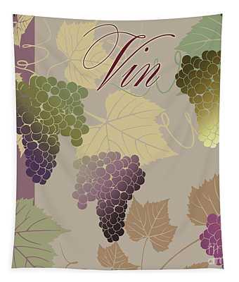 Modern Wine Iv Tapestry
