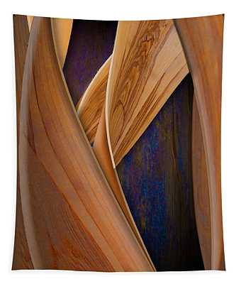 Molten Wood Tapestry
