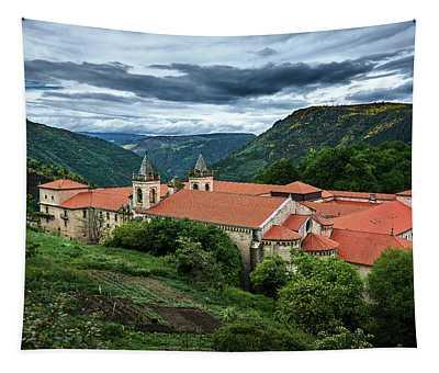 Monastery Of Santo Estevo De Ribas Del Sil Tapestry