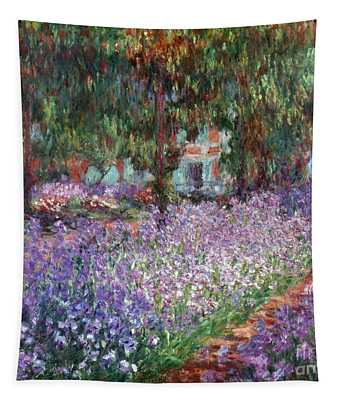 Tapestry featuring the photograph Monet: Giverny, 1900 by Granger