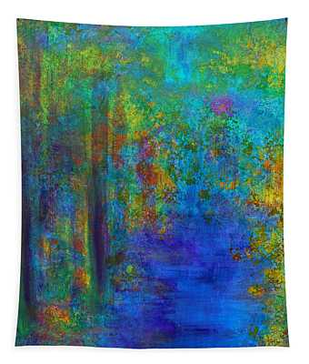 Monet Woods Tapestry