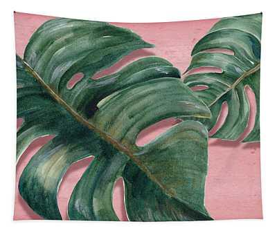 Monstera Leaf  Tapestry