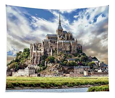 Mont Saint-michel Tapestry