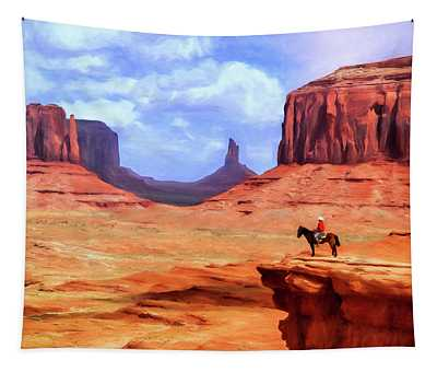 Colorado National Monument Paintings Wall Tapestries