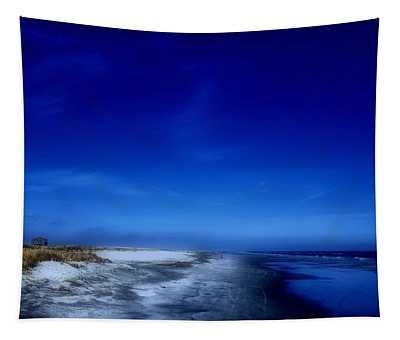Mood Of A Beach Evening - Jersey Shore Tapestry