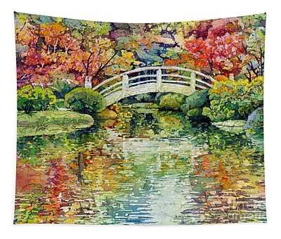 Moon Bridge Tapestry
