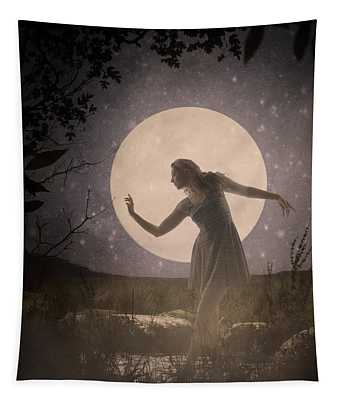Moon Dance 001 Tapestry