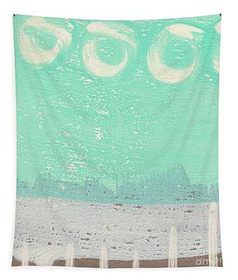 Moon Over The Sea Tapestry