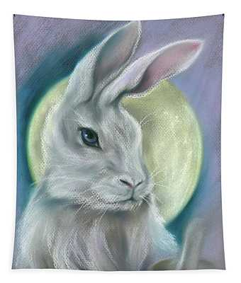 Moon Rabbit Tapestry