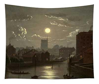 Moonlight Scene Tapestry