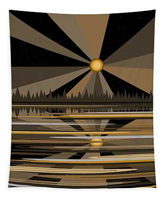 Moonshine Gold Tapestry