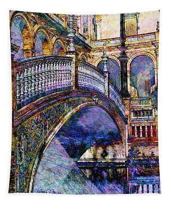 Moorish Bridge Tapestry