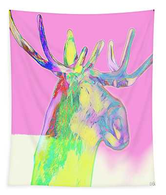 Moosemerized Tapestry