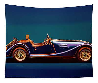Morgan Roadster 2004 Painting Tapestry