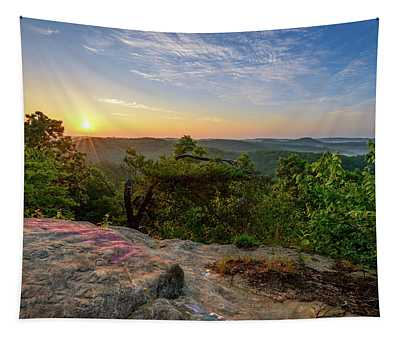 Morning Colors Tapestry