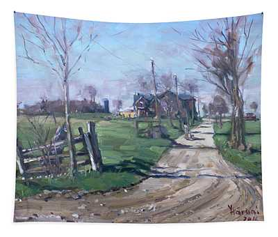 Morning In The Farm Georgetown Tapestry