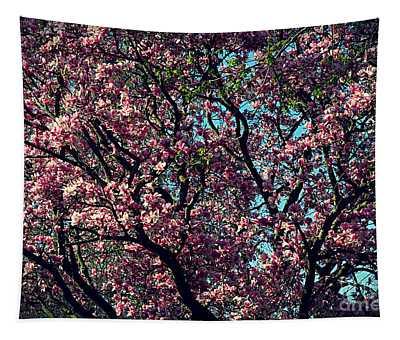 Morning Lit Magnolia Tapestry