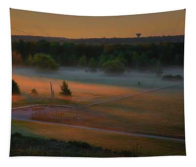 Morning Mist Over Dyarna #h7 Tapestry