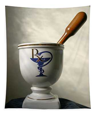 Mortar And Pestle Tapestry