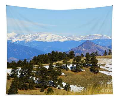 Mosquito Range Mountains Tapestry