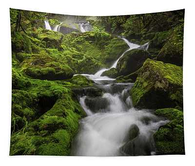 Mossy Fall #3 Tapestry