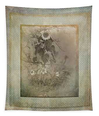 Mother And Child Reunion Vintage Frame Tapestry
