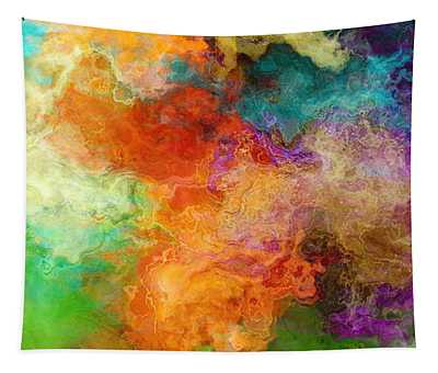 Mother Earth - Abstract Art Tapestry