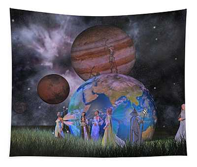 Mother Earth Series Plate2 Tapestry