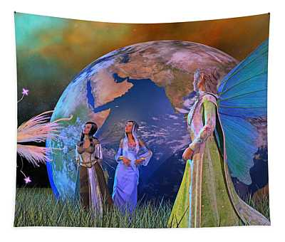 Mother Earth Series Plate5 Tapestry